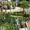 Landesgartenschau Gießen - Harfe und Trommelschlägel